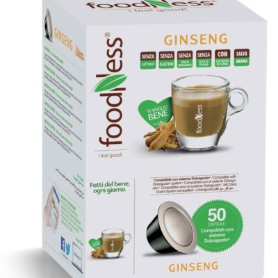 Capsule foodness ginseng