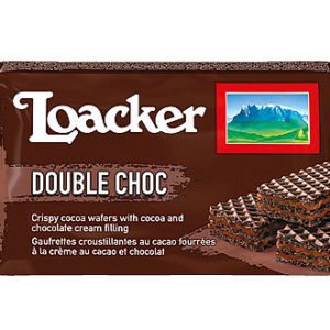 Loacker Wafer Double Choc 45g.