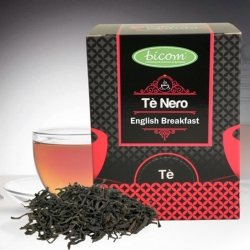BICOM TE NERO ENGLISH BREAKFAST piramidale 15 filtri